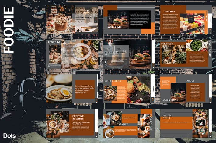 Thumbnail for Foodie - Powerpoint Tamplate