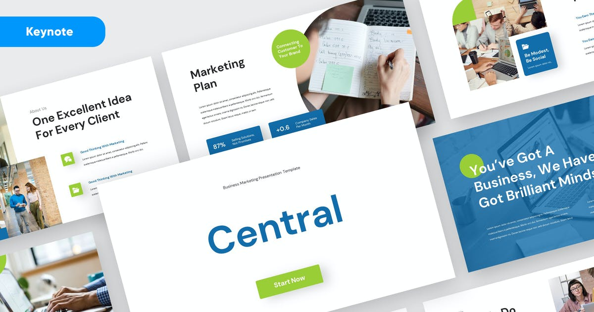 Download CENTRAL - Marketing Business Keynote by rgbryand