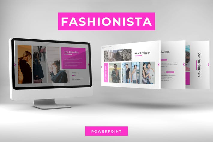 Thumbnail for Fashionista - Powerpoint Template