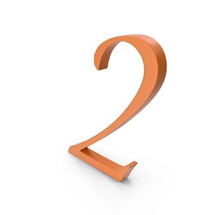 2 Orange Number