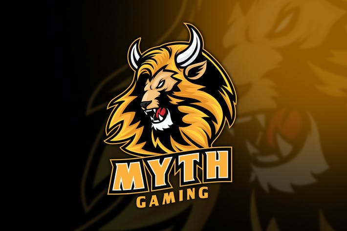 Thumbnail for Lion Myth Esport Logo Template