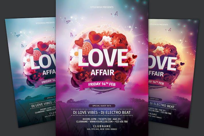 Thumbnail for Love Affair Flyer