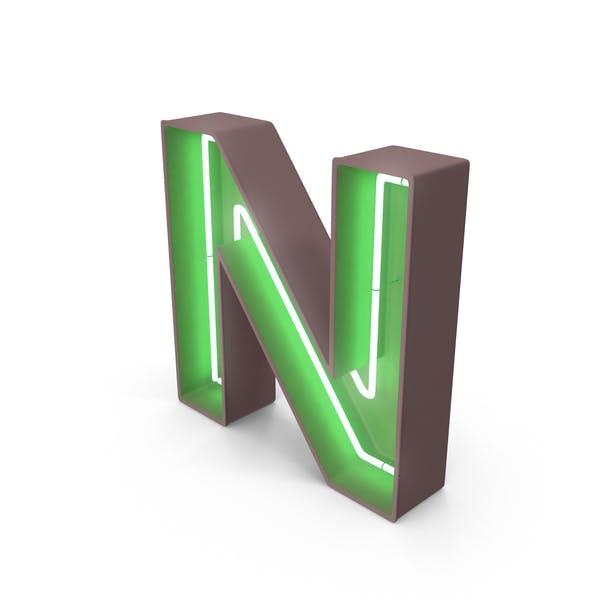 Thumbnail for Neon Letter N