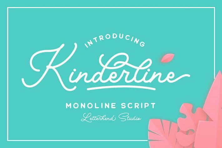 Thumbnail for Kinderline - Joy & Playful Script