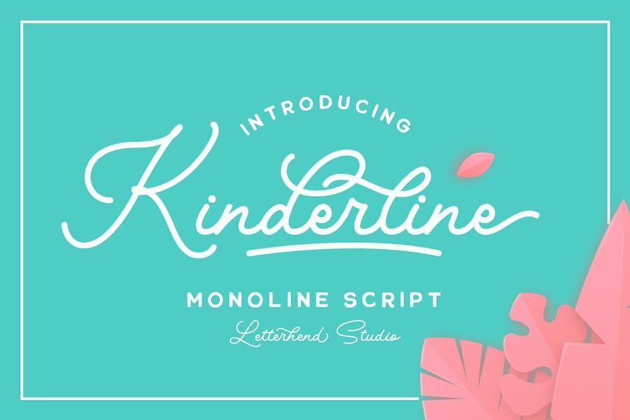 Kinderline - Joy & Playful Script