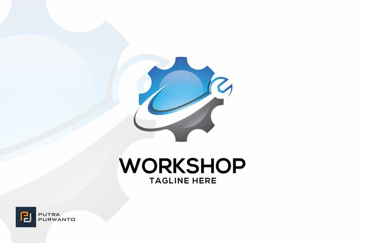 Cover Image For Workshop - Logo Template