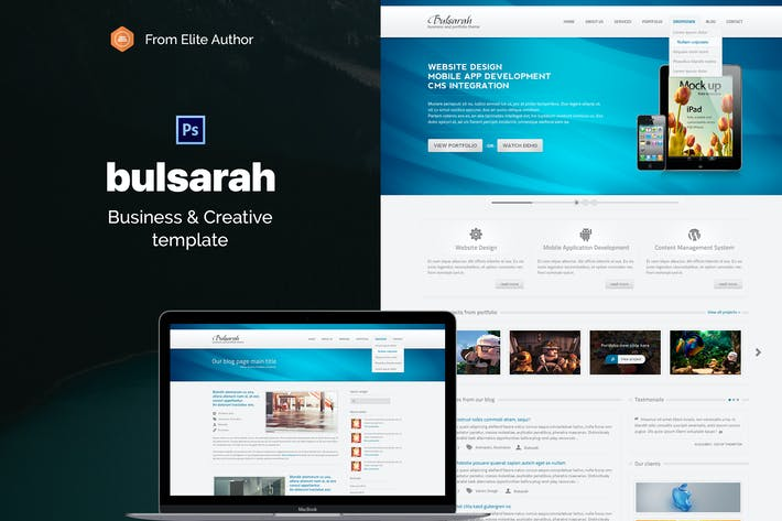 Thumbnail for Bulsarah - Creative Corporate Business Template