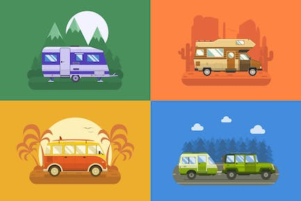 RV Campers Travel Collection
