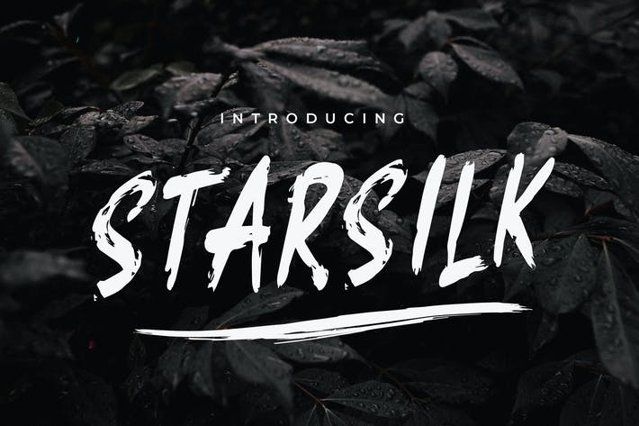 Thumbnail for Starsilk Font