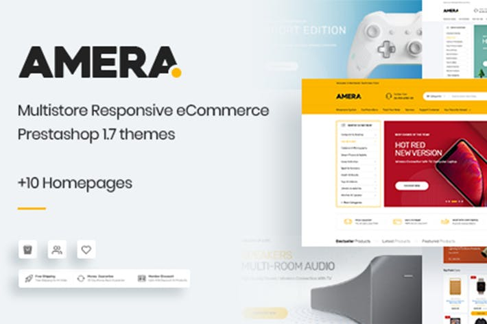 Thumbnail for Amera - Responsive Prestashop 1.7 Tema