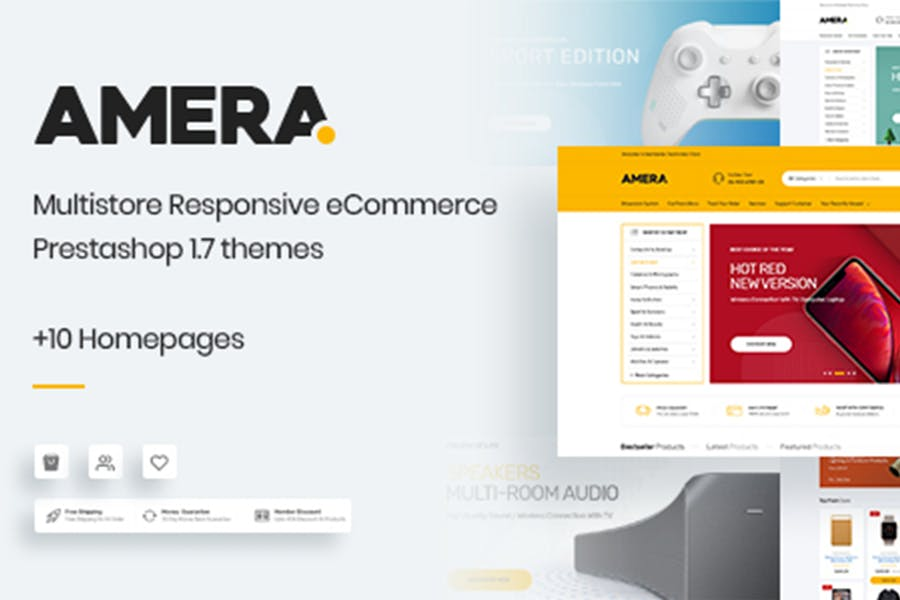 Amera - Responsive Prestashop 1.7 Theme - product preview 0