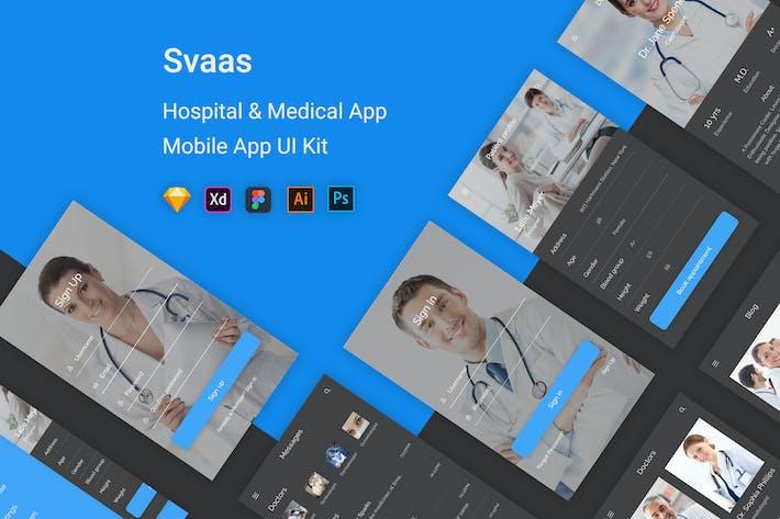Svaas - Hospital & Medical UI Kit
