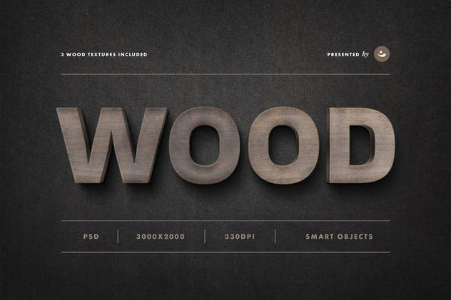 Wood Sign Text Effect - product preview 4