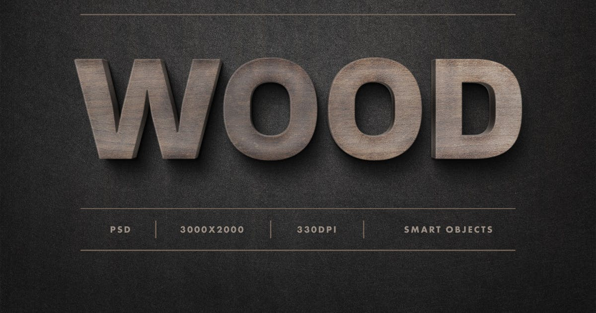 Download Wood Sign Text Effect by pixelbuddha_graphic
