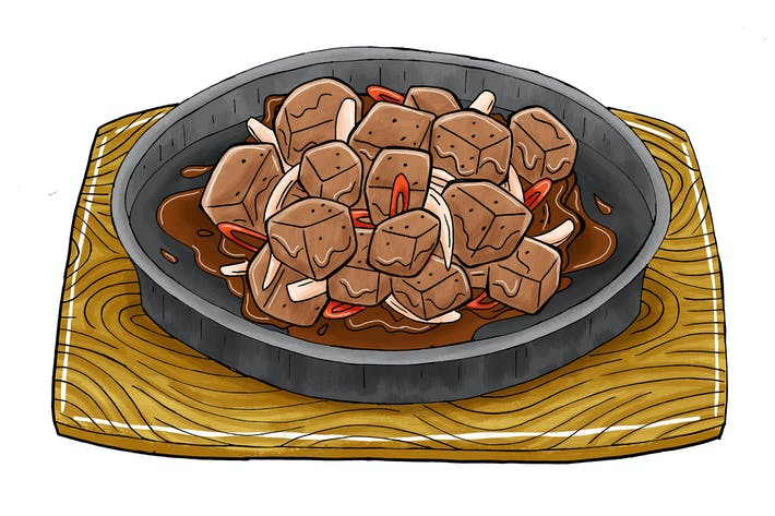 Thumbnail for Hot Plate Black Pepper Beef