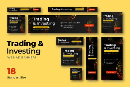 Trading Web Banner