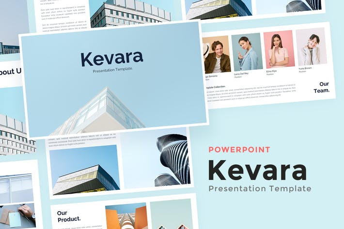 Thumbnail for Кевара Бизнес - Powerpoint Шаблон