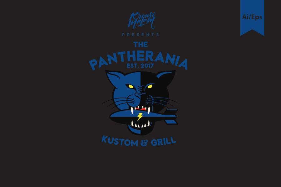 Pantherania Logo Template