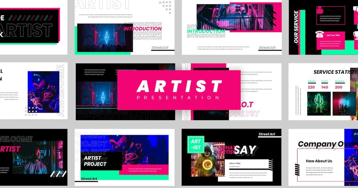Download Artist Powerpoint Presentation by vectorclans