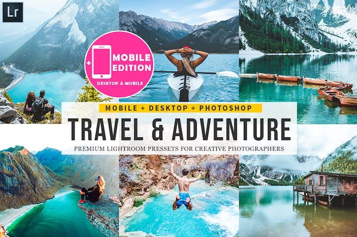 Thumbnail for Пресеты Lightroom для путешествий и приключений