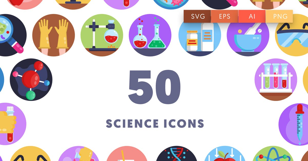 Download Science Icons by thedighital