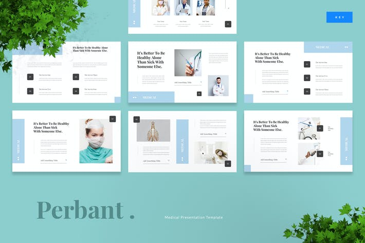 Thumbnail for Perbant - Medical Keynote Template