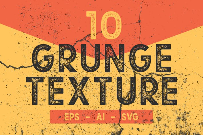 Cover Image For 10 Grunge Texture Pack