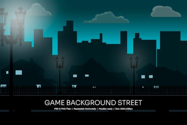 Game Background Street