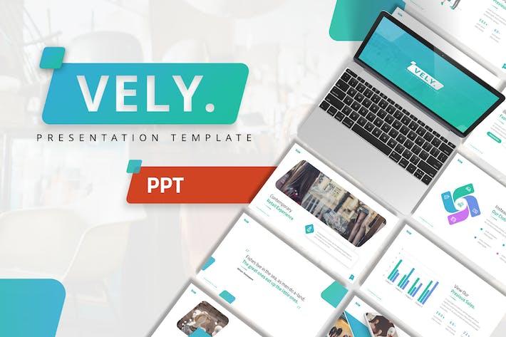 Thumbnail for Vely - Творческий Шаблон Powerpoint