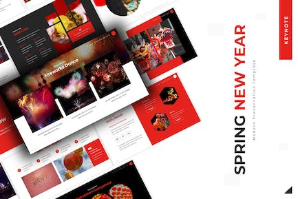Spring New Year - Keynote Template