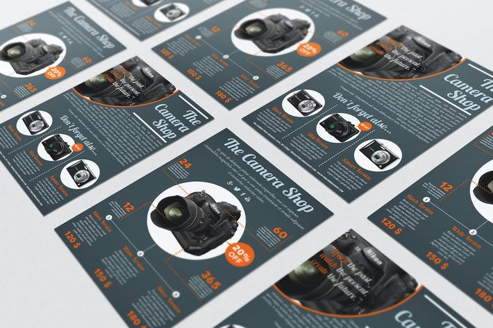 professional flyers templates bundle by andre28 on envato elements