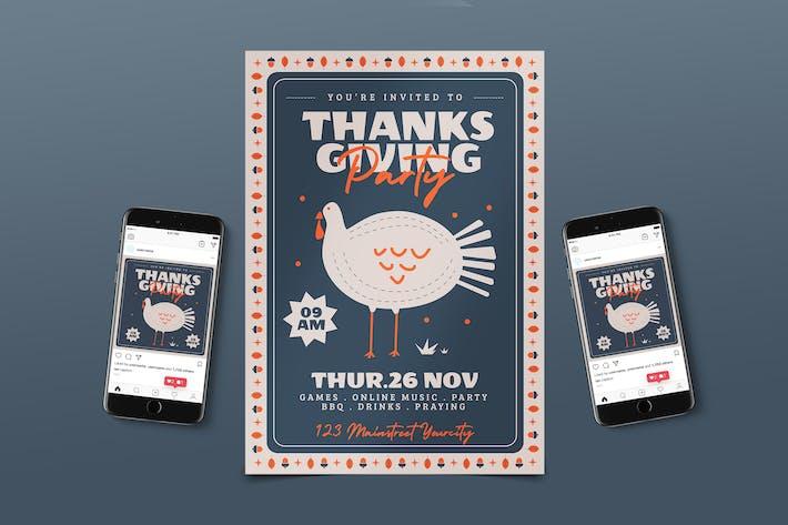 Thanksgiving Flyer Pack