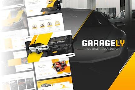 Garagely - Automotive PowerPoint Template