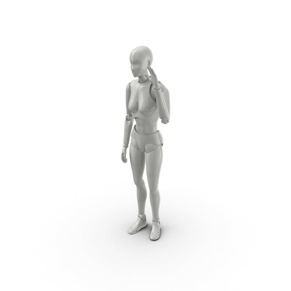 Cover Image for Posed Female Figure