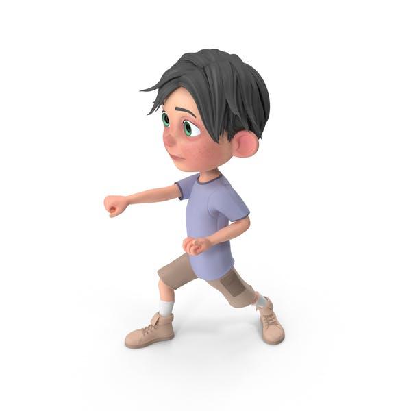 Thumbnail for Cartoon Boy Jack Punching