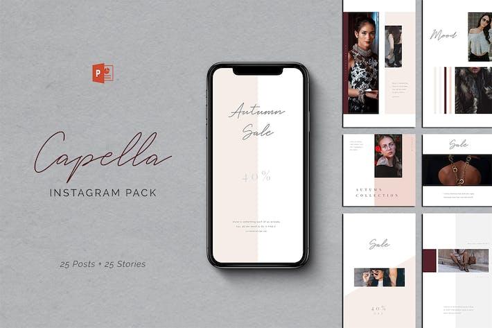 Capella PowerPoint Instagram Pack