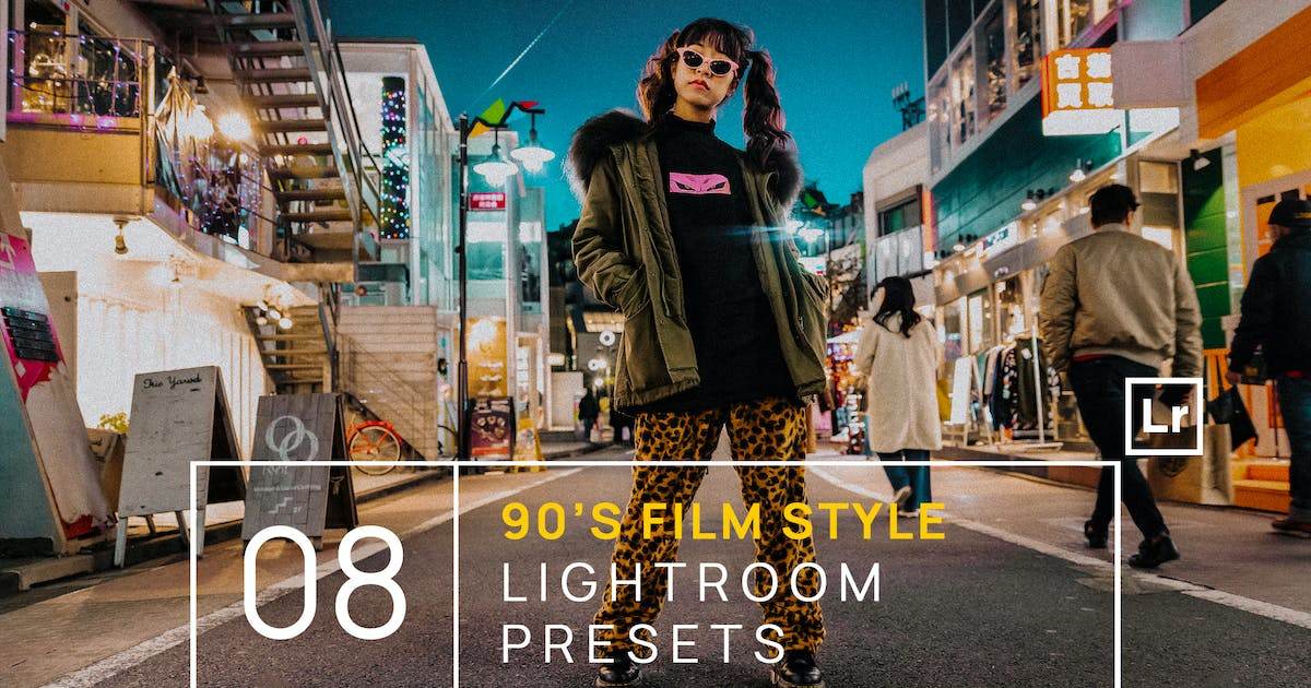 Download 90s Film Style Lightroom Presets + Mobile by zvolia