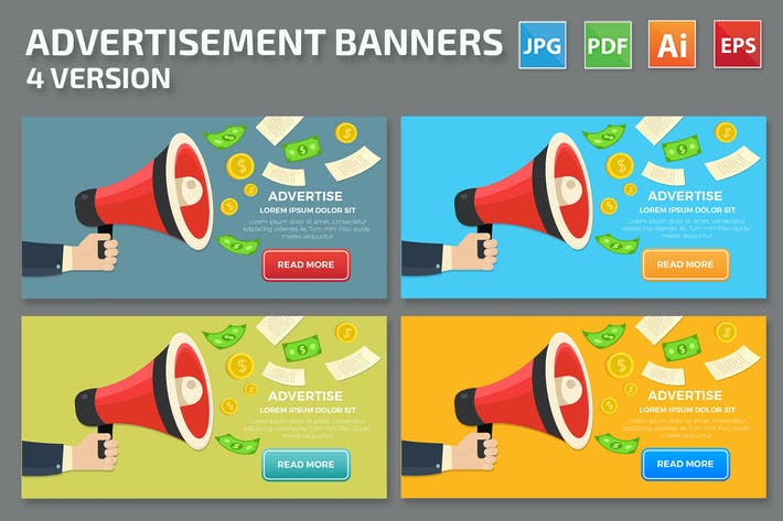 Thumbnail for Advertise Banners Design