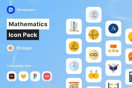 Mathematics Icon Pack