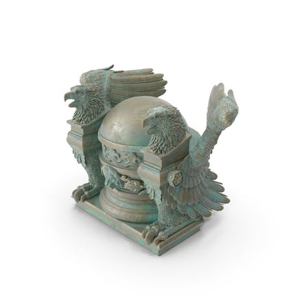 Statuen-Basis