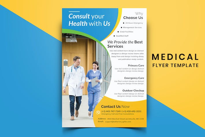 Thumbnail for Medical Flyer Template-04