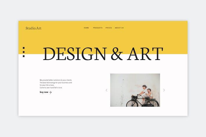 Thumbnail for Arte y Diseño - Página de inicio