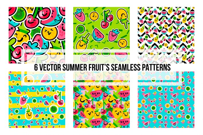 Thumbnail for Summer Fruits Patterns