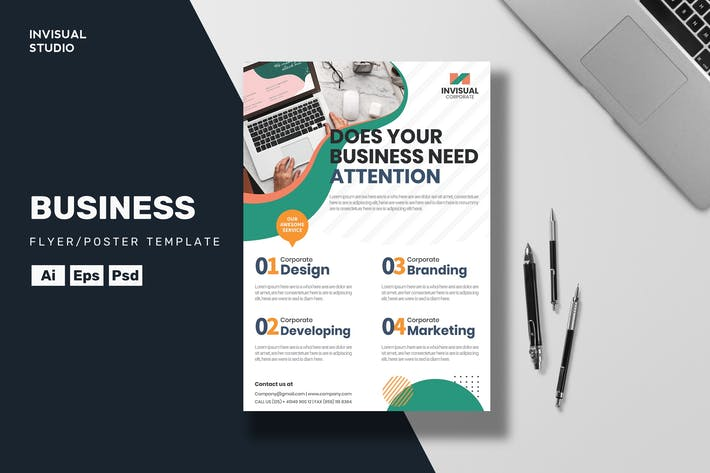 Thumbnail for Business  - Flyer Template