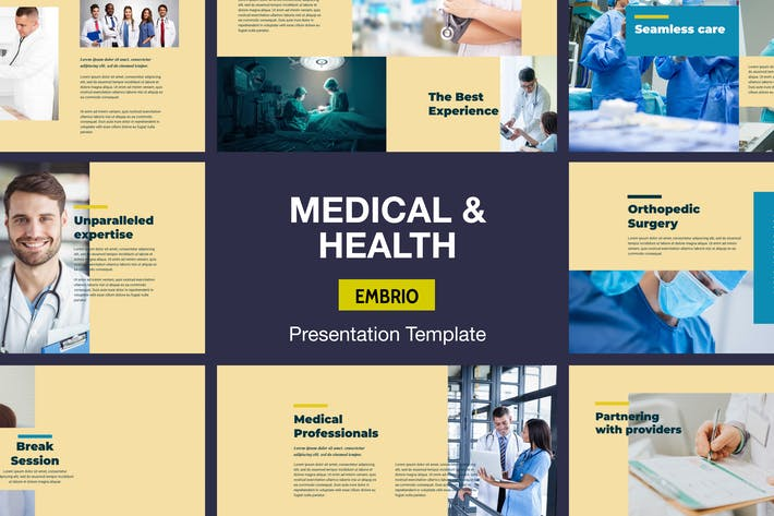 Embrio - Medical & Health Presentation Template