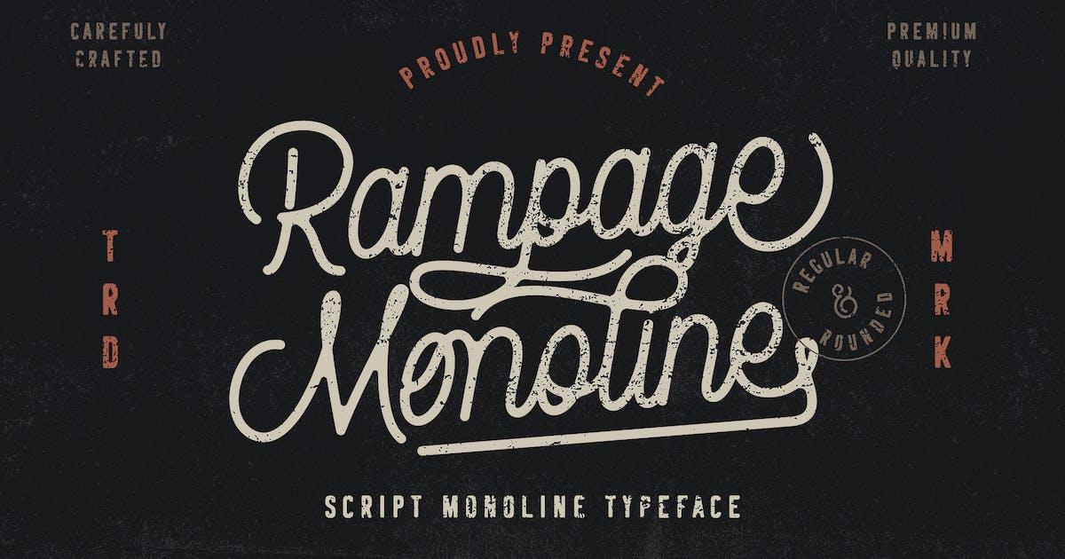 Download Rampage Monoline Script by RahardiCreative