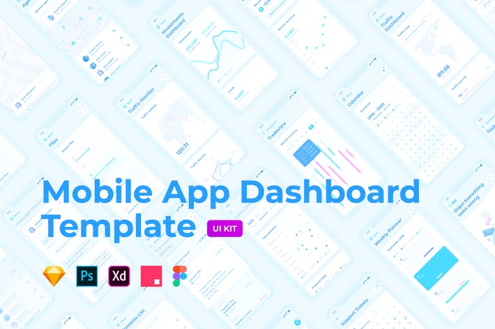 Thumbnail for Mobile App Dashboard – HIX Multi-Format UI KIT