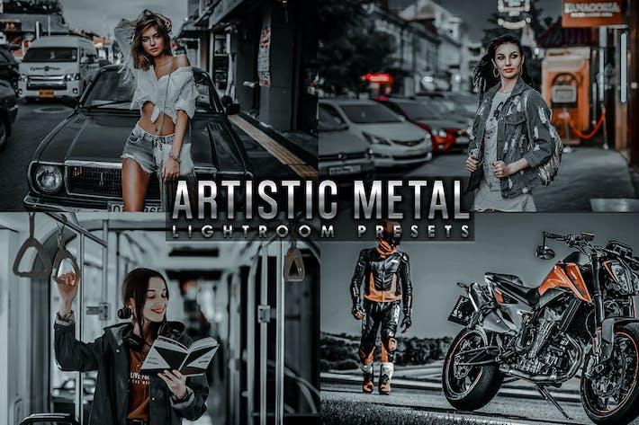 Thumbnail for Пресеты художественного металла Lightroom