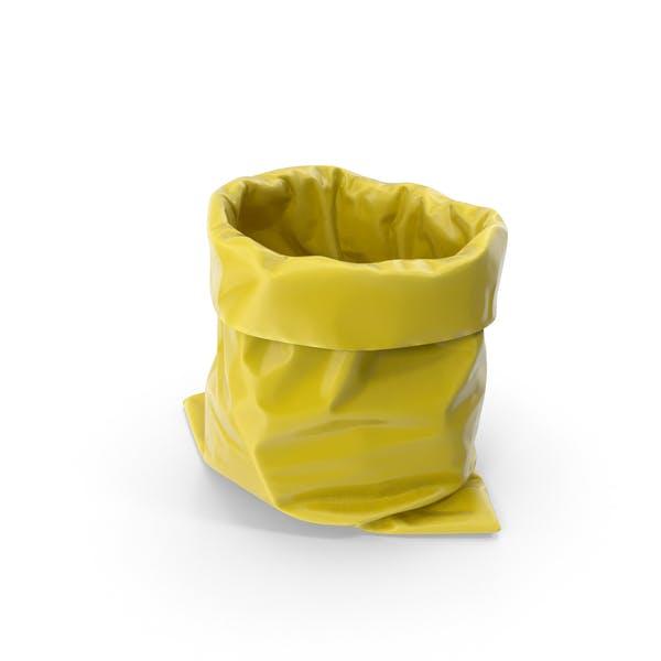 Желтый мешок для мусора