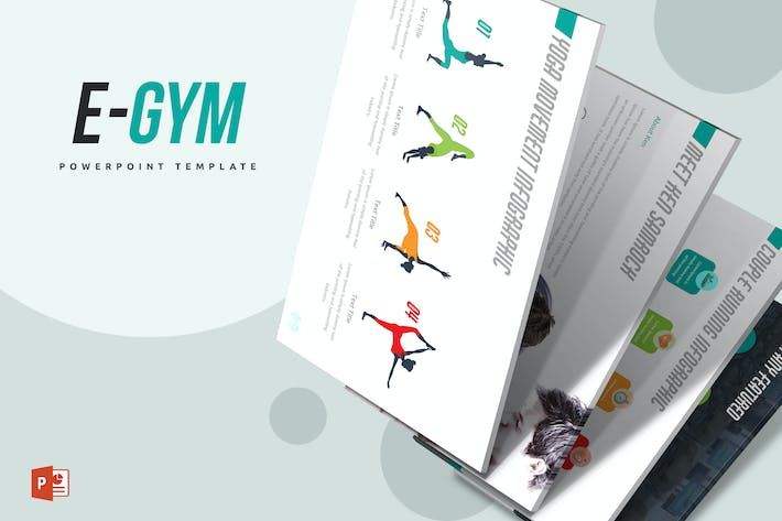 Thumbnail for EGym Powerpoint Template